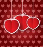 Corazón Sticker Fotografía de archivo libre de regalías