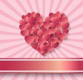 Corazón Sticker Foto de archivo
