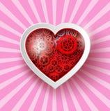 Corazón Sticker Foto de archivo libre de regalías