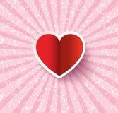 Corazón Sticker Fotografía de archivo