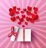 Corazón Sticker Imagenes de archivo