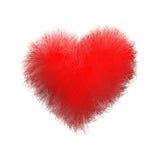 Corazón suave fotografía de archivo