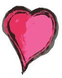 Corazón sucio Fotografía de archivo