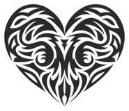 Corazón tribal Fotos de archivo