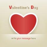 Corazón Valentine Day Fotografía de archivo
