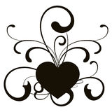 Corazón, vector Imagen de archivo