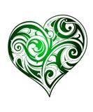 Corazón verde libre illustration