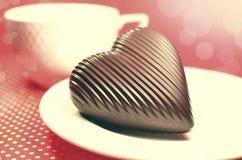 Corazón verde estilizado de la ilustración del vector Fotos de archivo libres de regalías