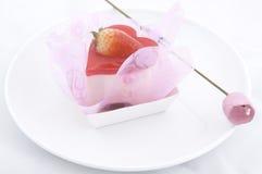 Corazón y flor Imagen de archivo libre de regalías