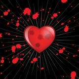 Corazón y sangre Fotografía de archivo libre de regalías