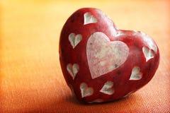 Corazón de piedra Imágenes de archivo libres de regalías