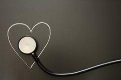 Corazón del pulso Foto de archivo libre de regalías