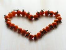 Corazón del tomate Foto de archivo