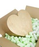 Corazón frágil Imágenes de archivo libres de regalías
