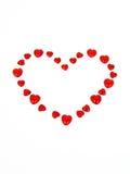 Corazón para el día de tarjeta del día de San Valentín Fotos de archivo