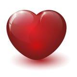 Corazón quebrado brillante Imagenes de archivo