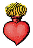 Corazón sagrado Imagenes de archivo