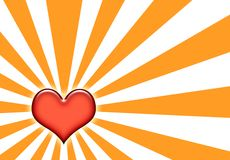 Corazon Sunburst Abstract Wallpaper Royalty Free Stock Photography