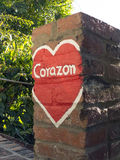 Corazone (心脏) 库存图片