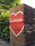 Corazone (hart) Stock Afbeelding