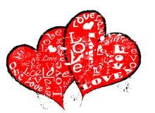 corazones Foto de archivo libre de regalías