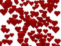 1000 corazones Fotos de archivo