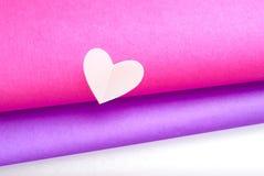 Corazones coloreados Imagen de archivo libre de regalías