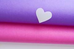 Corazones coloreados Foto de archivo libre de regalías