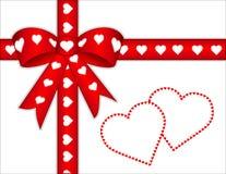 corazones de +EPS a usted presente Fotos de archivo libres de regalías