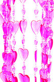 Corazones de la tarjeta del día de San Valentín fotos de archivo libres de regalías