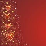 Corazones de Valentin Imágenes de archivo libres de regalías