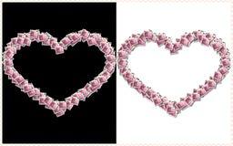 Corazones del amor Fotografía de archivo libre de regalías