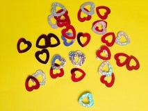 Corazones del amor Foto de archivo libre de regalías