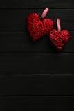 Corazones del amor Imágenes de archivo libres de regalías