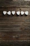 Corazones del amor Fotos de archivo