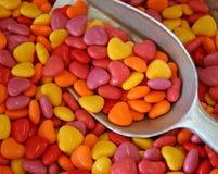 Corazones del caramelo Imagen de archivo