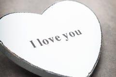 Corazones del día de tarjeta del día de San Valentín Tarjeta greating del día de San Valentín Imagen de archivo libre de regalías