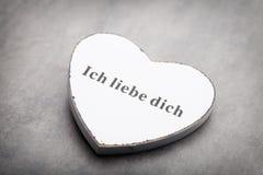 Corazones del día de tarjeta del día de San Valentín Tarjeta greating del día de San Valentín Imagenes de archivo