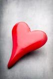 Corazones del día de tarjeta del día de San Valentín Tarjeta greating del día de San Valentín Fotos de archivo