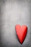Corazones del día de tarjeta del día de San Valentín Tarjeta greating del día de San Valentín Fotografía de archivo