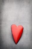 Corazones del día de tarjeta del día de San Valentín Tarjeta greating del día de San Valentín Imágenes de archivo libres de regalías