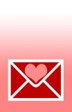 Corazones del día de tarjetas del día de San Valentín Fotografía de archivo