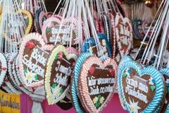 Corazones en la más oktoberfest Fotos de archivo