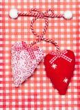 Corazones para la tarjeta del día de San Valentín \ el 'día de s Fotografía de archivo