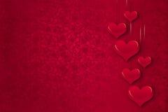 Corazones rojos Foto de archivo