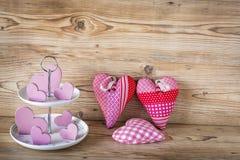 Corazones rosados Imagen de archivo libre de regalías