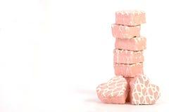 Corazones rosados Imagen de archivo