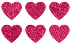 Corazones rosados libre illustration