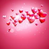 Corazones rosados Foto de archivo