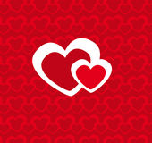 Corazones (vector) Royalty Free Stock Photography